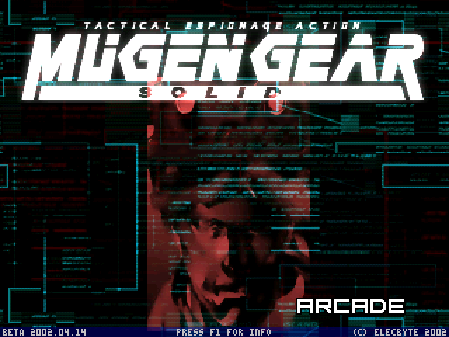 METAL GEAR SOLIDE - HI-RES - SCREENPACK ! Mugen000