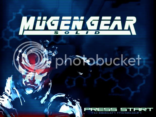 MetalGear or MugenGear 1.0 Sreen Pack WIP! Mugen001-23