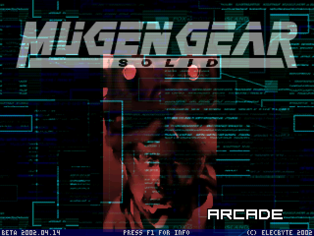 METAL GEAR SOLIDE - HI-RES - SCREENPACK ! Mugen001
