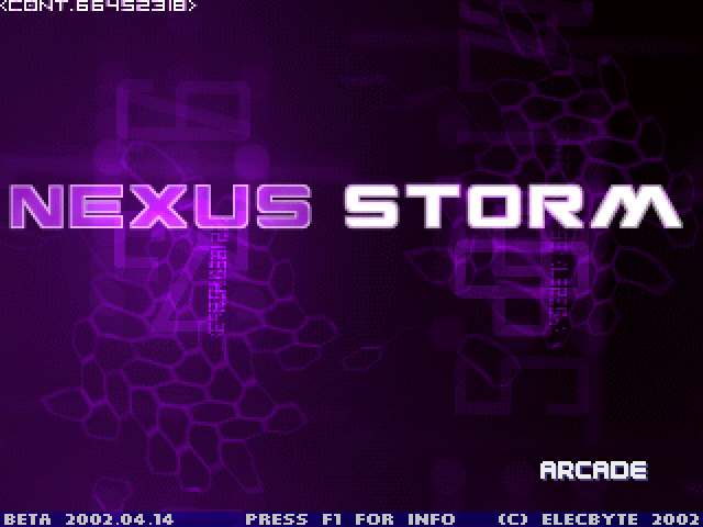 Nexus Storm Hi-res Screenpack for Winplus! Mugen2-34