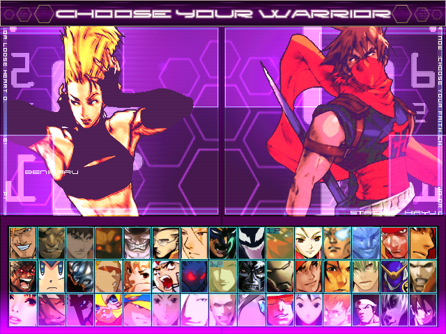 Nexus Storm Hi-res Screenpack for Winplus! Mugen3-30