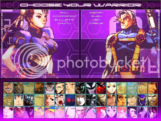 Nexus Storm Hi-res Screenpack for Winplus! Mugen6-12