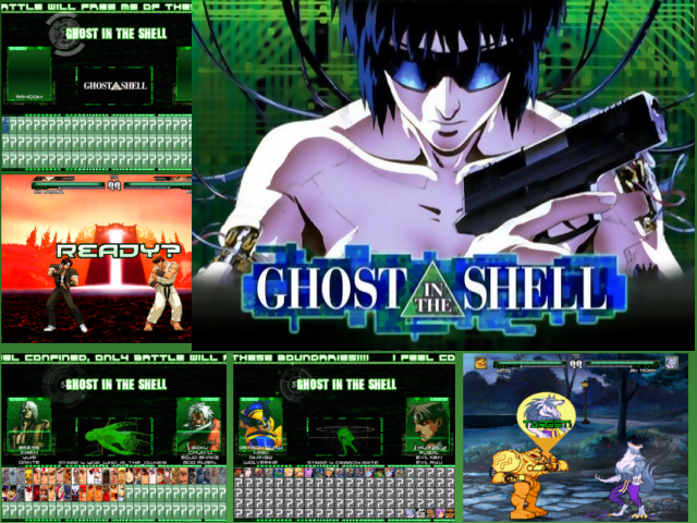 GHOST IN THE SHELL 1.0 [640x480] SCREENPACK! SCREENpACKtITLE2
