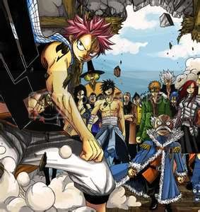 Top 5 series de anime favoritas Fairytail