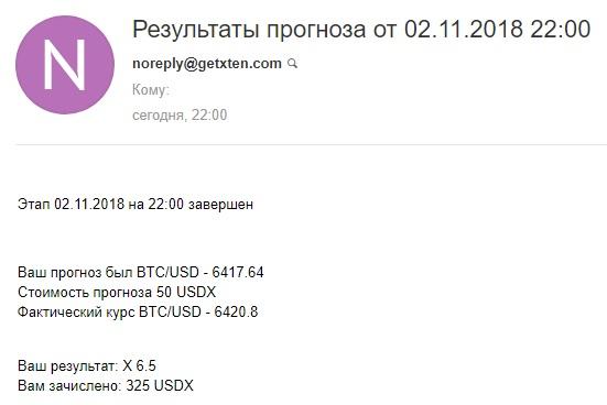 Getxten прогнозы на валютные пары биткоина,доллара. До 1000% доход, 100$ на демо счет F4a62c658919e80374cca2c14cda2459
