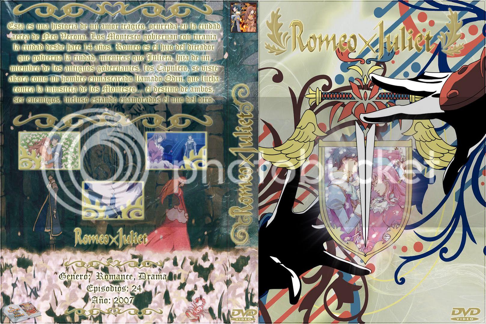 Romeo x Juliet <3 Lienzo-dvd-standardRxJ