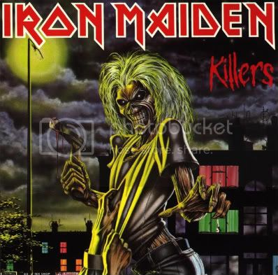 Iron Maiden - Discografia Killers
