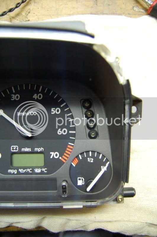 JSB Racing Shift light kit, for Corrado and Mk3 Golf DSC_1481