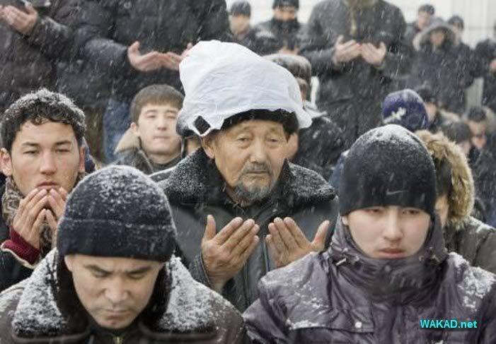 صلاة جمعة في كازخستان 68234
