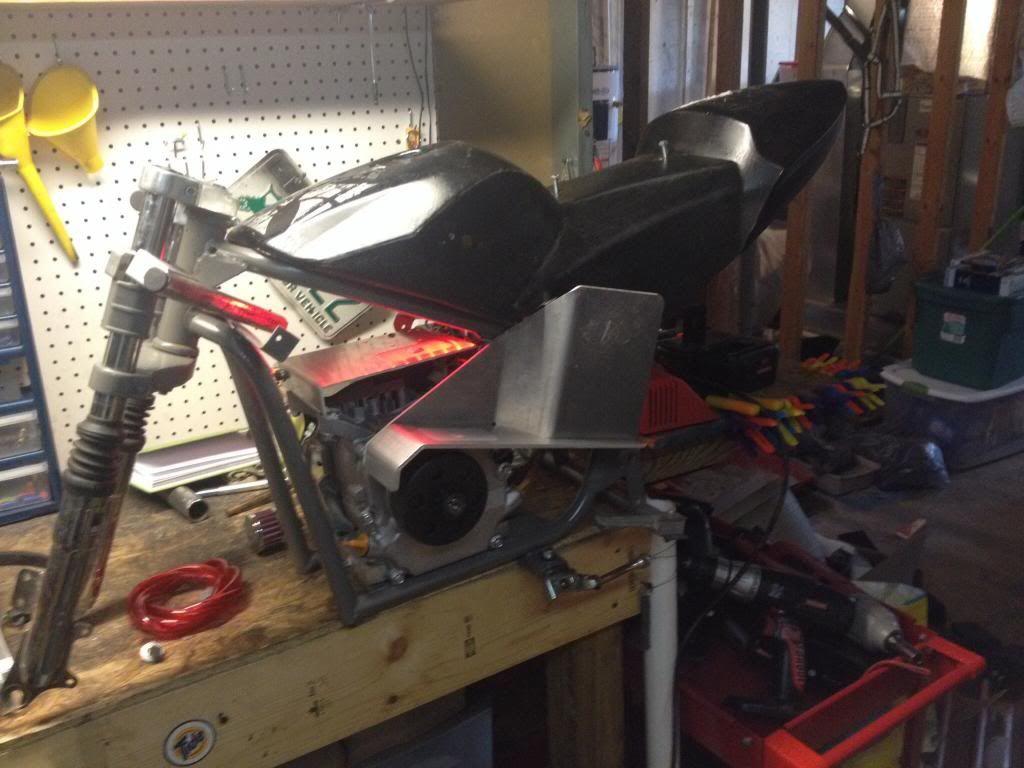 Pocket drag bike build! Image-3