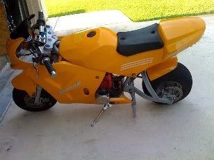 Pocket drag bike build! Image