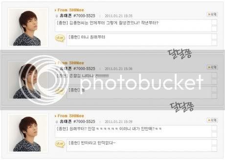 """[News][27.01.11]Jonghyun trả lời câu hỏi """"Từ bao giờ mà bạn trở nên đẹp trai như vậy?"""" Jonghyun22-460x328"""