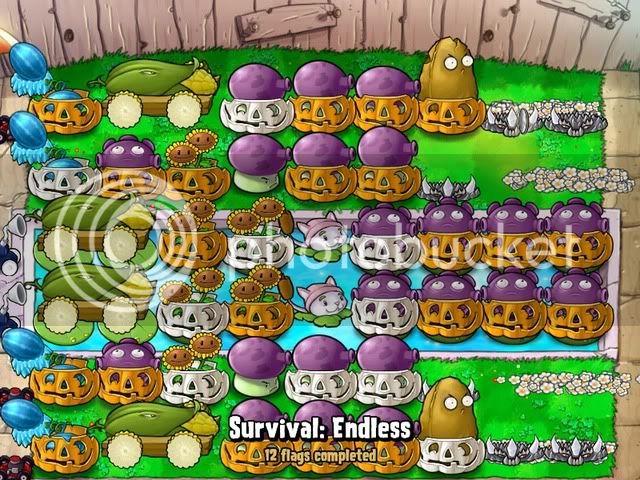 Đội hình Plants vs Zombies của bạn Endless12flags