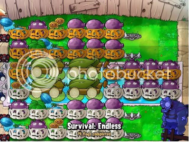 Đội hình Plants vs Zombies của bạn Endless14flags