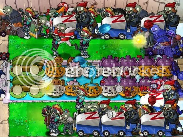 Đội hình Plants vs Zombies của bạn Endless41flags