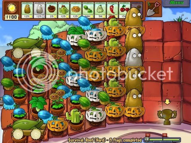 Đội hình Plants vs Zombies của bạn RoofHard-1