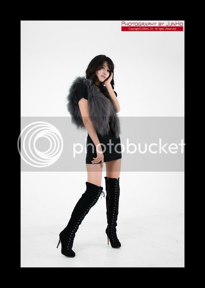 Cha Sun Hwa - Black Mini Dress Cha_Sun_Hwa_Black_Mini_Dress_6