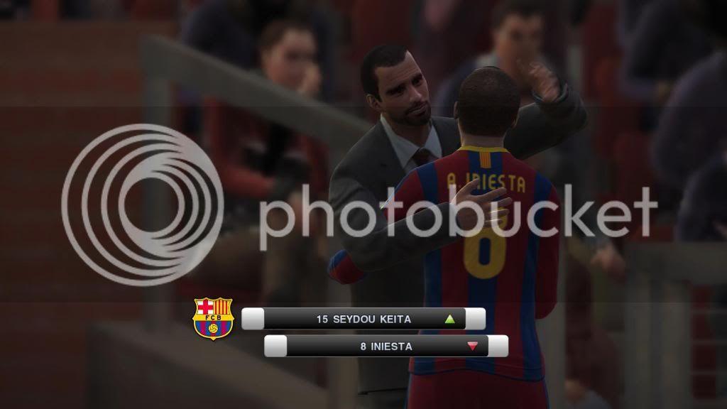 باتش تغيير وجوة المدربين لـ لعبة Pes 2011 بحجم 3 ميجا  Barca