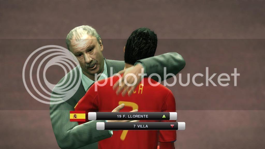 باتش تغيير وجوة المدربين لـ لعبة Pes 2011 بحجم 3 ميجا  Spain