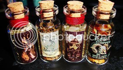 Alchemystic Door /  Fimo food p 2 bas Bottles006