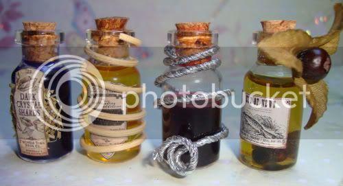Alchemystic Door /  Fimo food p 2 bas Glas012-1