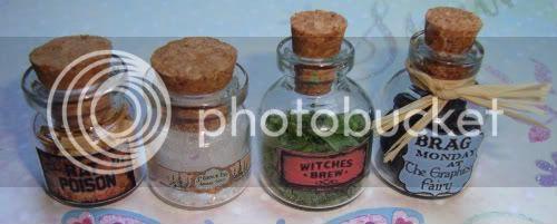 Alchemystic Door /  Fimo food p 2 bas Glas019-1