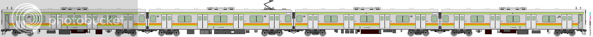 鐵路列車 1968