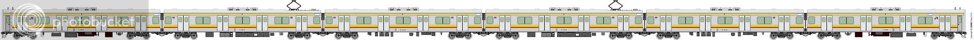 鐵路列車 1970
