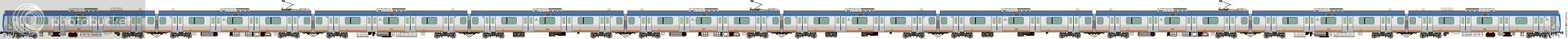 鐵路列車 1993