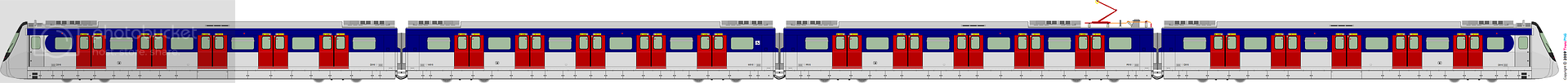 Commuter Train 2098