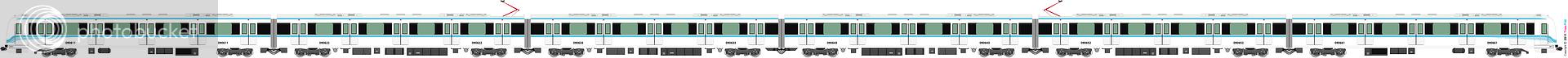 鐵路列車 2276