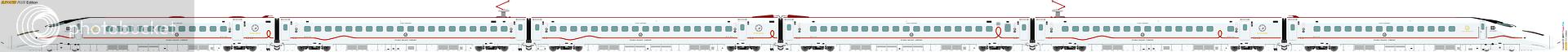 鐵路列車 2280