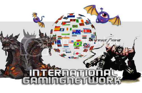 International Gaming Network Header Event!!! Header
