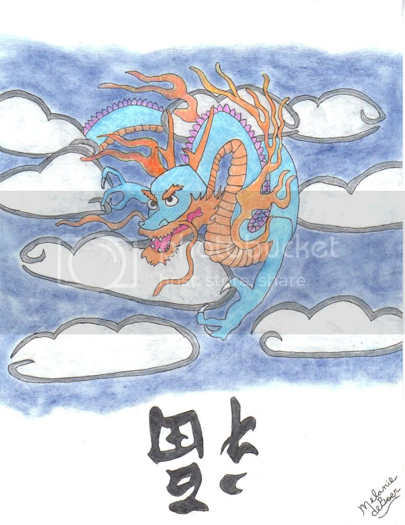 Drawing and other art pieces Goodluckdragon