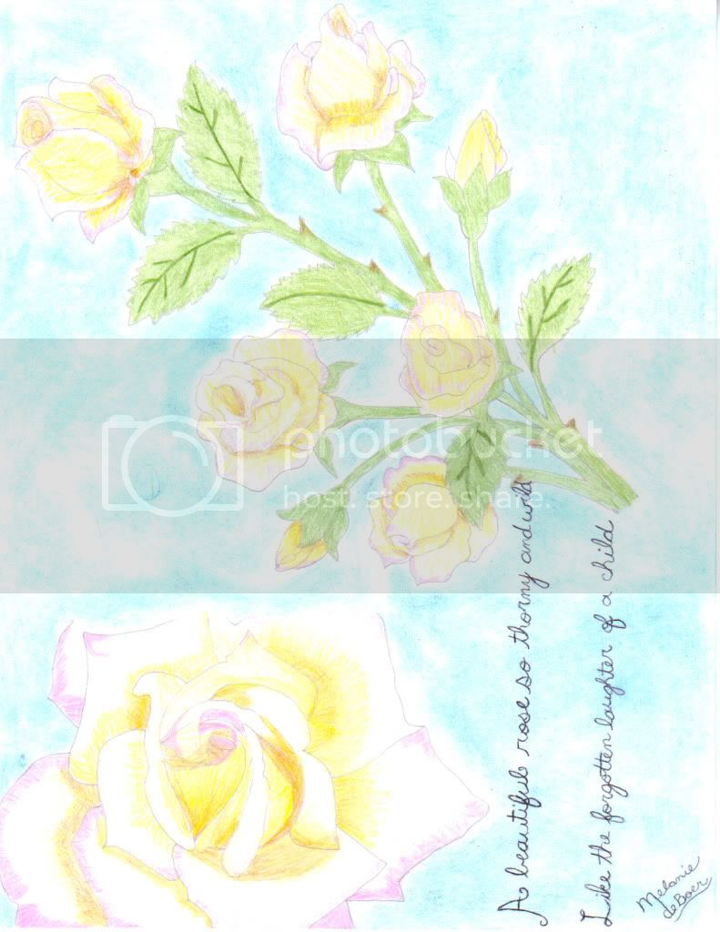 Drawing and other art pieces Roses