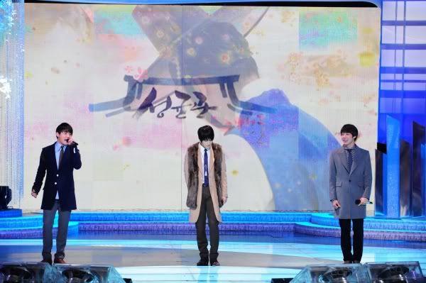 """[01012011][News]Sự xuất hiện lần đầu tiên của JYJ tại KBS Drama, Điểm ấn tượng ? """" Đã tìm thấy, sân khấu của chúng tôi"""" 1-10"""