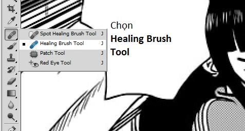 [TUTORIAL] Edit Manga bang Photoshop - Nghe Editor Redraw1
