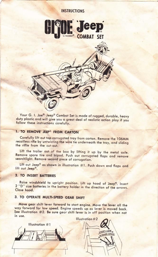 Gi Joe Jeep Instructions 1965 Moto-Rev Jeep1Large