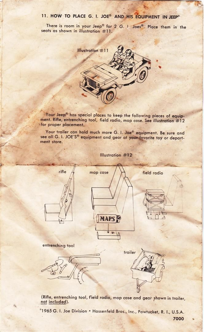 Gi Joe Jeep Instructions 1965 Moto-Rev Jeep4Large