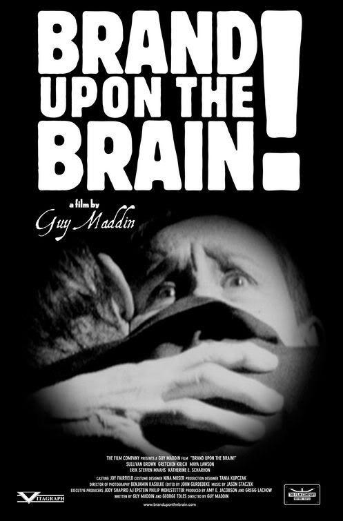 """[Film] Des Trous Dans La Tête. film """"muet"""" en noir et blanc de Guy Maddin. 2006, Canada. Brand_upon_the_brain"""