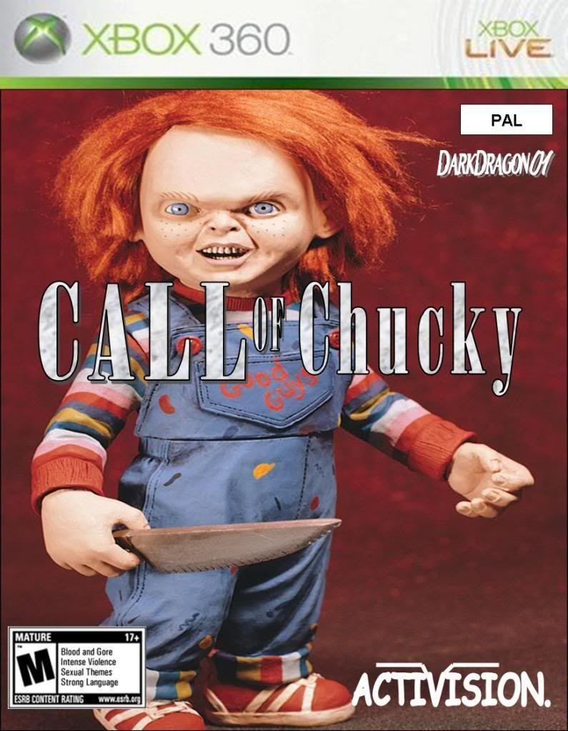 Portadas de juegos  fakes Call_of_Chucky