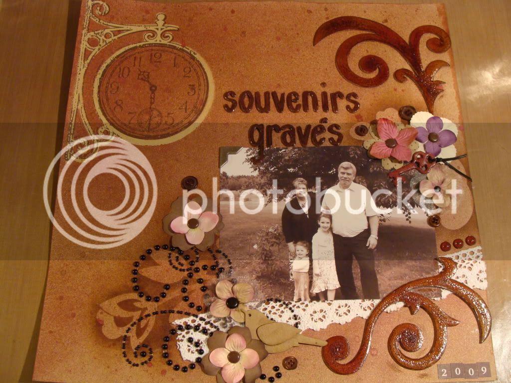 Juillet 2009 Un souvenir gravé Souvenirsgravs