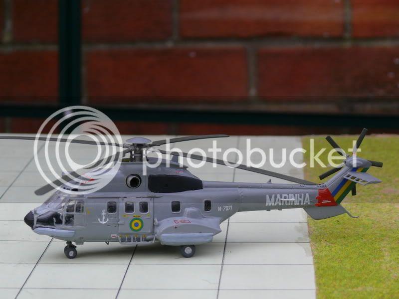 Helicópteros MB: Aviação Naval Brasileira, Seahawk MH 16 e Cougar/ EC725 Super Cougar 021-3