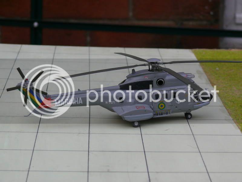Helicópteros MB: Aviação Naval Brasileira, Seahawk MH 16 e Cougar/ EC725 Super Cougar 022-4
