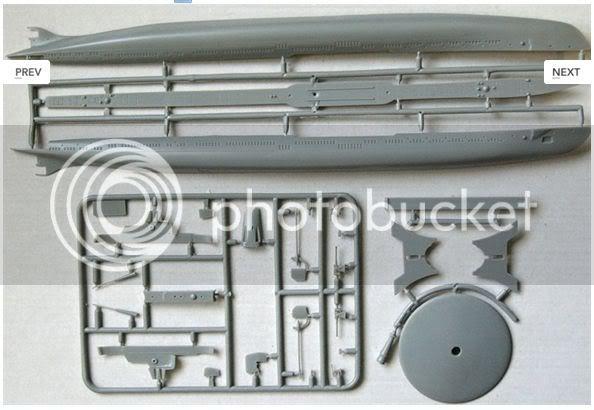 Kits de submarinos da Mikro Mir 1-26