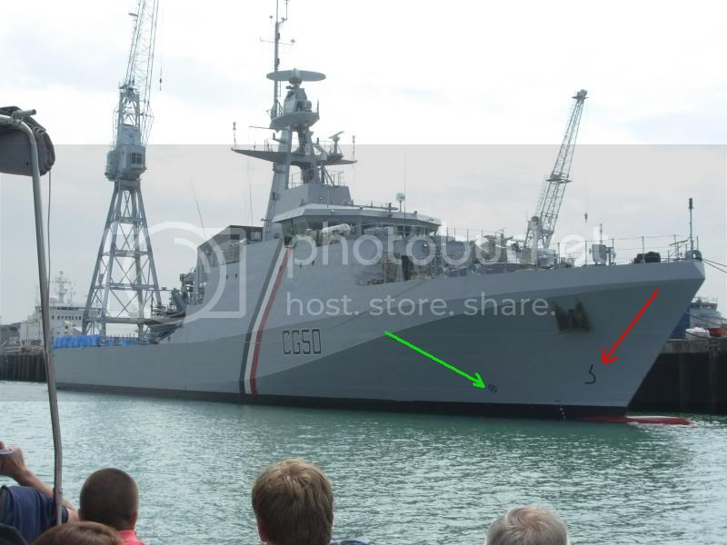 "OPVS classe Port of Spain/ NaPaOc classe ""Amazonas""  1370956-1"