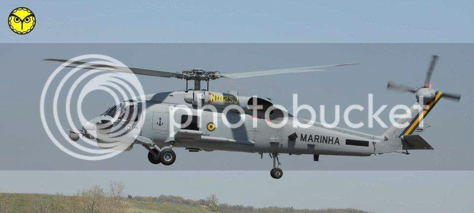Helicópteros MB: Aviação Naval Brasileira, Seahawk MH 16 e Cougar/ EC725 Super Cougar 3-25