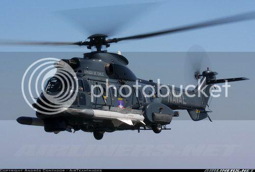 Helicópteros MB: Aviação Naval Brasileira, Seahawk MH 16 e Cougar/ EC725 Super Cougar ClhileAs532SC