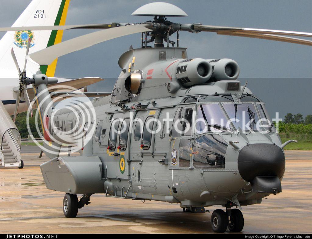 Helicópteros MB: Aviação Naval Brasileira, Seahawk MH 16 e Cougar/ EC725 Super Cougar EC725floaternotinstaled