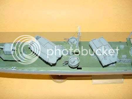 Destroyer soviético Gremyashiy da classe Gnevny MI1